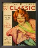 Clara Bow - MotionPictureClassicMagazineCover1920's Posters