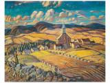 Saint-Hilarion Premium Giclee-trykk av Arthur Lismer