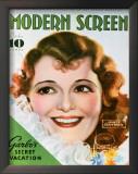 Janet Gaynor - ModernScreenMagazineCover1940's Print