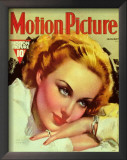 Carole Lombard - MotionPictureMagazineCover1930's Art