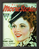 Hepburn, Katharine - Romantic Movie Stories Magazine Cover 1930's Prints