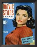 Gene Tierney - Movie Stars Parade Magazine Cover 1940's Prints