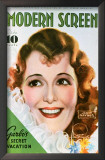 Janet Gaynor - Modern Screen Magazine Cover 1930's Prints
