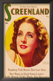 Norma Shearer - Screenland Magazine Cover 1930&#39;s Posters