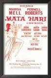 Mata Hari - Broadway Poster , 1942 Print