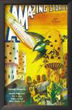 Amazing Stories - Pulp Poster, 1935 Print