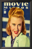 Ginger Rogers - Movie Mirror Magazine Cover 1930's Posters