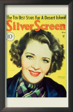 Ruby Keeler - Silver Screen Magazine Cover 1930's Posters