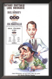 The Odd Couple - Broadway Poster Posters