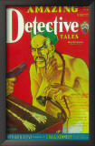 Amazing Detective Tales - Pulp Poster, 1930 Print