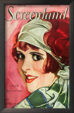 Clara Bow - Screenland Magazine Cover 1920&#39;s Prints