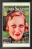 Joan Crawford - Modern Screen Magazine Cover 1930's Art