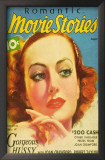 Joan Crawford - Romantic Movie Stories Magazine Cover 1930's Print