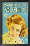 Hepburn, Katharine - Modern Screen Magazine Cover 1930's Posters