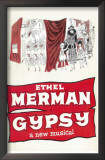 Gypsy - Broadway Poster , 1959 Prints