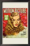 Lake, Veronica - Motion Picture Magazine Cover 1940's Prints
