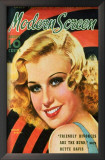 Ginger Rogers - Modern Screen Magazine Cover 1930's Posters