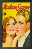 MacDonald, Jeanette - Modern Screen Magazine Cover 1930's Prints