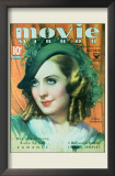 Norma Shearer - Movie Mirror Magazine Cover 1930's Posters