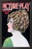Anna Q. Nilsson - Picture-Play Magazine Cover 1920's Poster