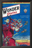 Wonder Stories - Pulp Poster, 1932 Art