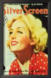 Carole Lombard - Silver Screen Magazine Cover 1930's Art