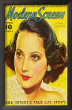 Merle Oberon - Modern Screen Magazine Cover 1930's Posters