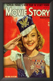 Sonja Henie - Movie Story Magazine Cover 1940's Prints
