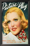 Jean Arthur - Picture-Play Magazine Cover 1920's Prints