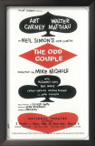 Odd Couple, The - Broadway Poster , 1985 Posters