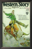Western Story Magazine - Pulp Poster, 1938 Prints