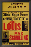 Joe Louis and Max Schmeling Prints