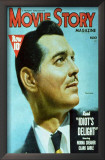 Clark Gable - Movie Story Magazine Cover 1940's Prints
