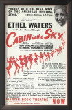 Cabin In The Sky - Broadway Poster , 1941 Art
