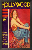 Billie Dove - Hollywood Magazine Cover 1930's Art