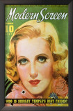Jean Arthur - Modern Screen Magazine Cover 1930's Print