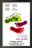 Barefoot in the Park - Broadway Poster , 1963 Prints