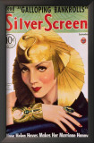 Claudette Colbert - Silver Screen Magazine Cover 1930's Posters
