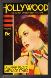 Joan Crawford - Silver Screen Magazine Cover 1930's Art