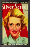 Bette Davis - Silver Screen Magazine Cover 1940's Poster
