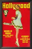 Sonja Henie - Hollywood Magazine Cover 1940's Print