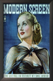 Carole Lombard - Modern Screen Magazine Cover 1940's Posters