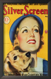 Carole Lombard - Silver Screen Magazine Cover 1930's Prints