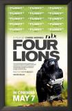 Four Lions Prints