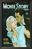 Lana Turner - Movie Story Magazine Cover 1940&#39;s Prints