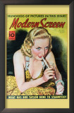 Carole Lombard - Modern Screen Magazine Cover 1930's Prints
