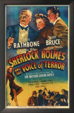 Sherlock Holmes and the Voice of Terror Prints