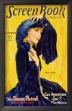 Greta Garbo - Screen Book Magazine Cover 1930's Poster