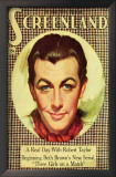 Robert Taylor - Screenland Magazine Cover 1930's Art