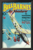 Bill Barnes Air Adventurer - Pulp Poster, 1934 Art